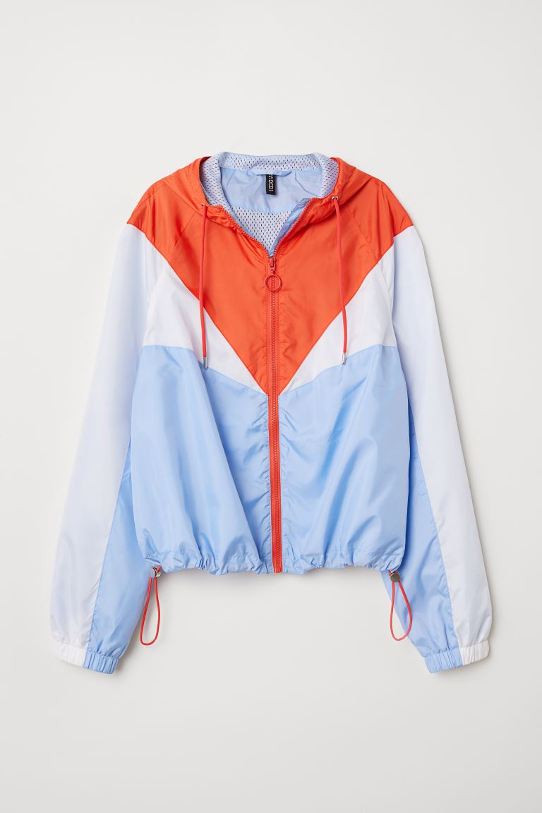 Block-coloured jacket - Light blue - Ladies | H&M GB