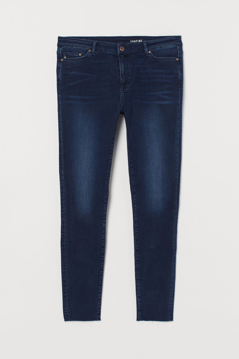 H&M+ Shaping Skinny Jeans - Donkerblauw - DAMES | H&M NL