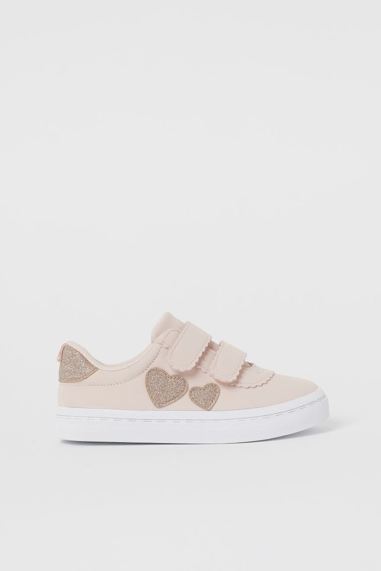 Sneakers - Powder pink/Hearts - Kids | H&M AU