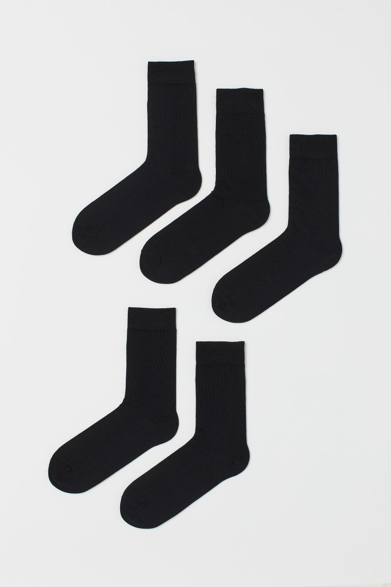 5-pack THERMOLITE® socks - Black - Men | H&M IN