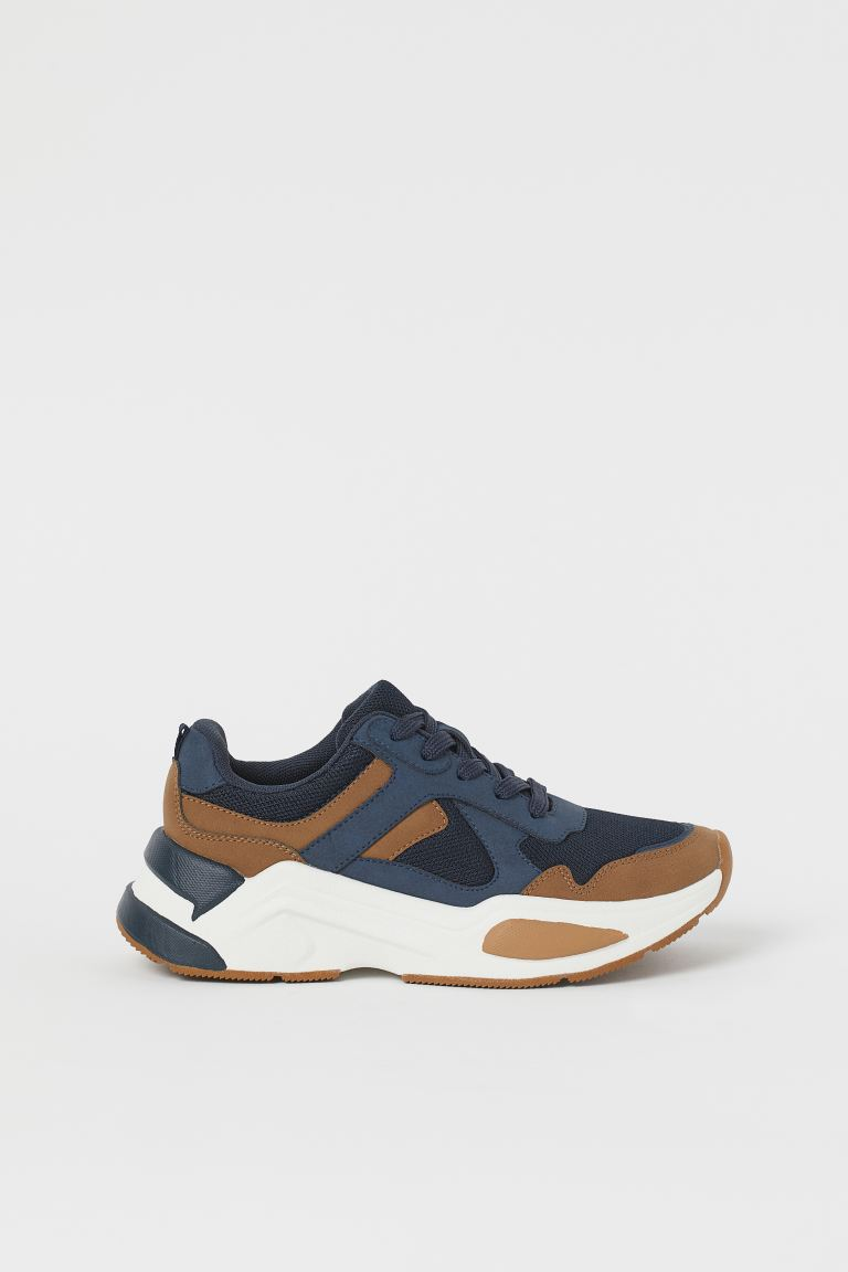 Sneaker - Marineblau/Braun - Kids | H&M AT