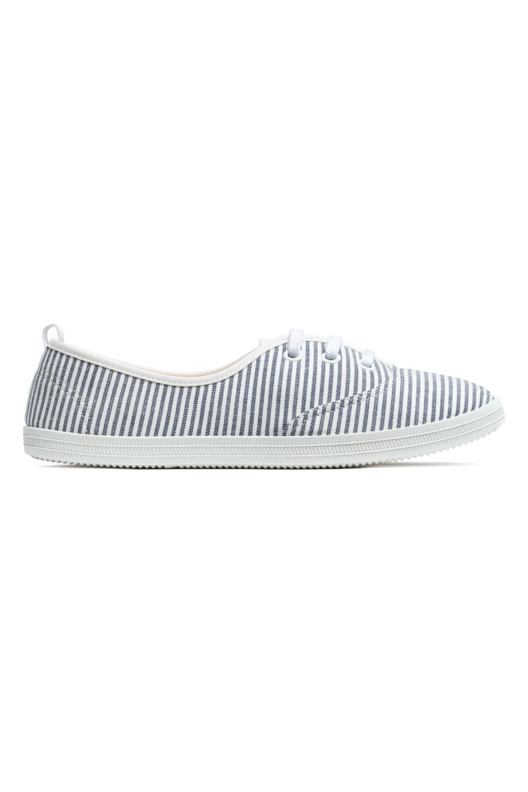 Trainers - White/Striped - Ladies | H&M