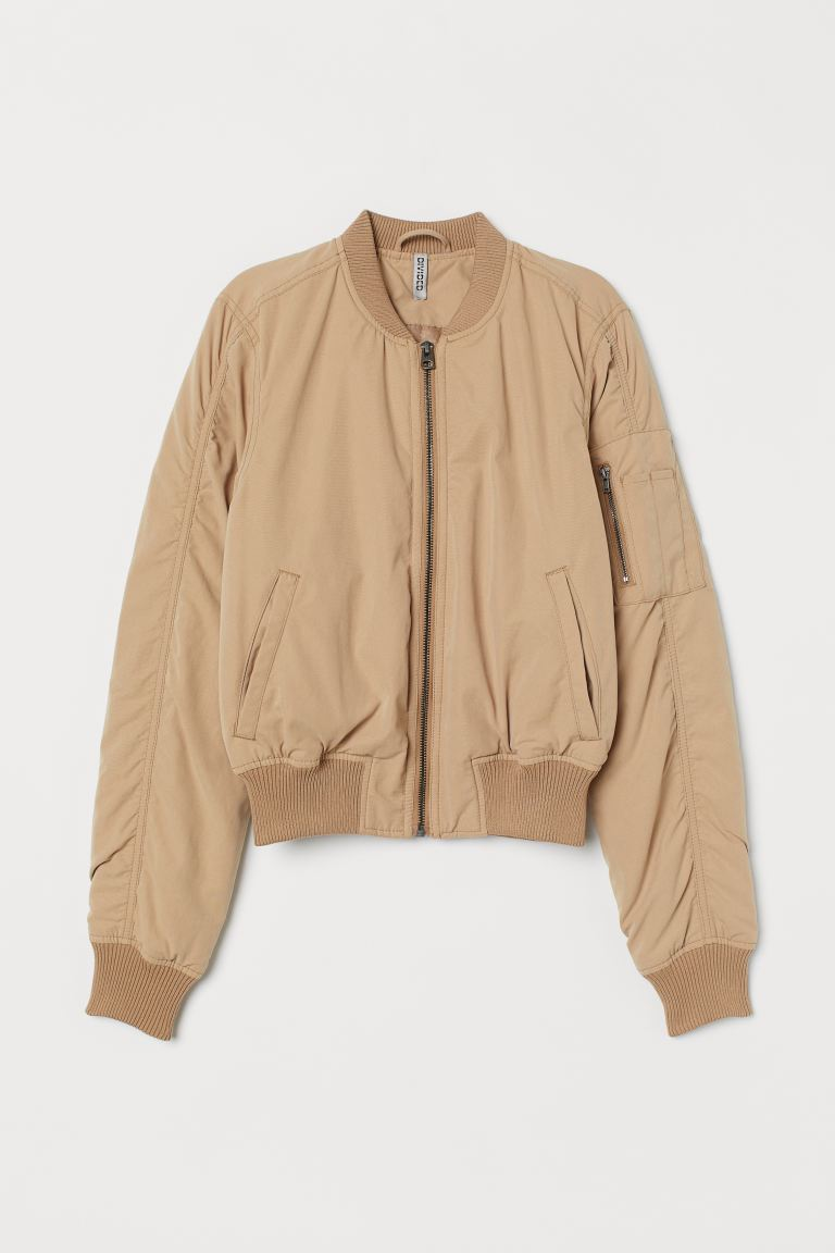 Pilotenjacke - Beige - Ladies | H&M AT