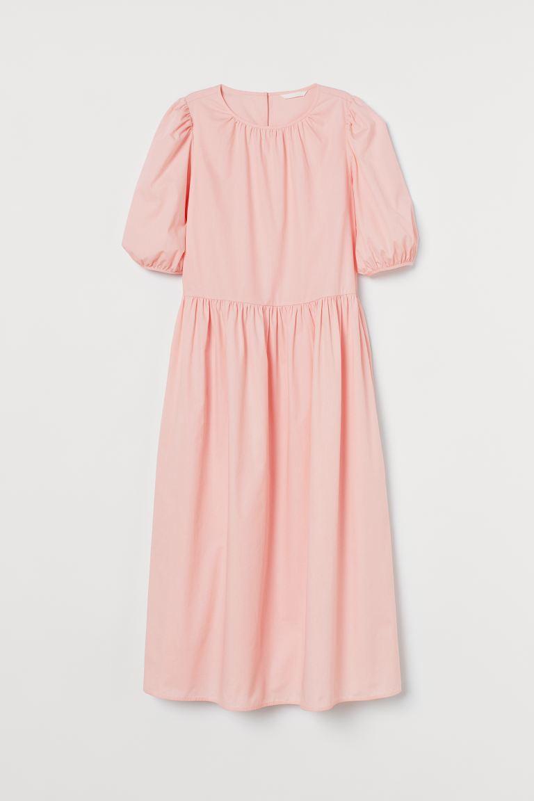 Calf-length dress - Light pink - Ladies | H&M