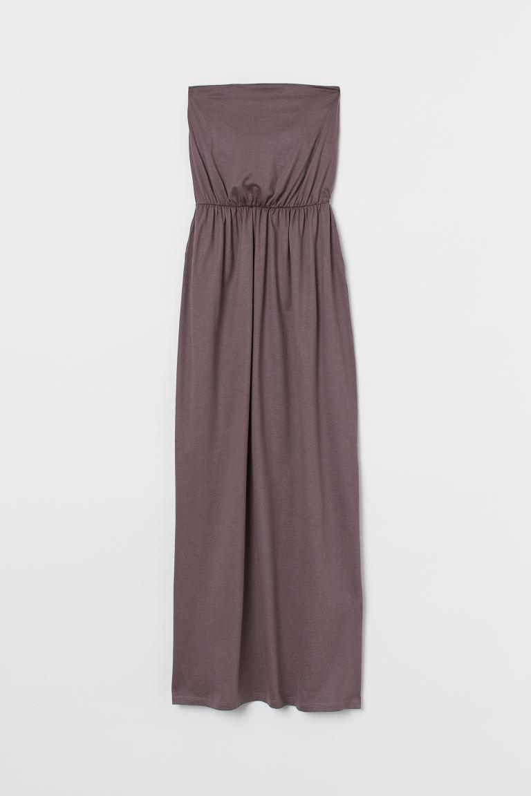 Maxikleid - Dunkles Mauve - Ladies | H&M AT