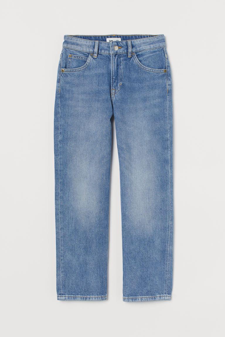 Straight Fit Jeans - Denimblå - BARN | H&M SE