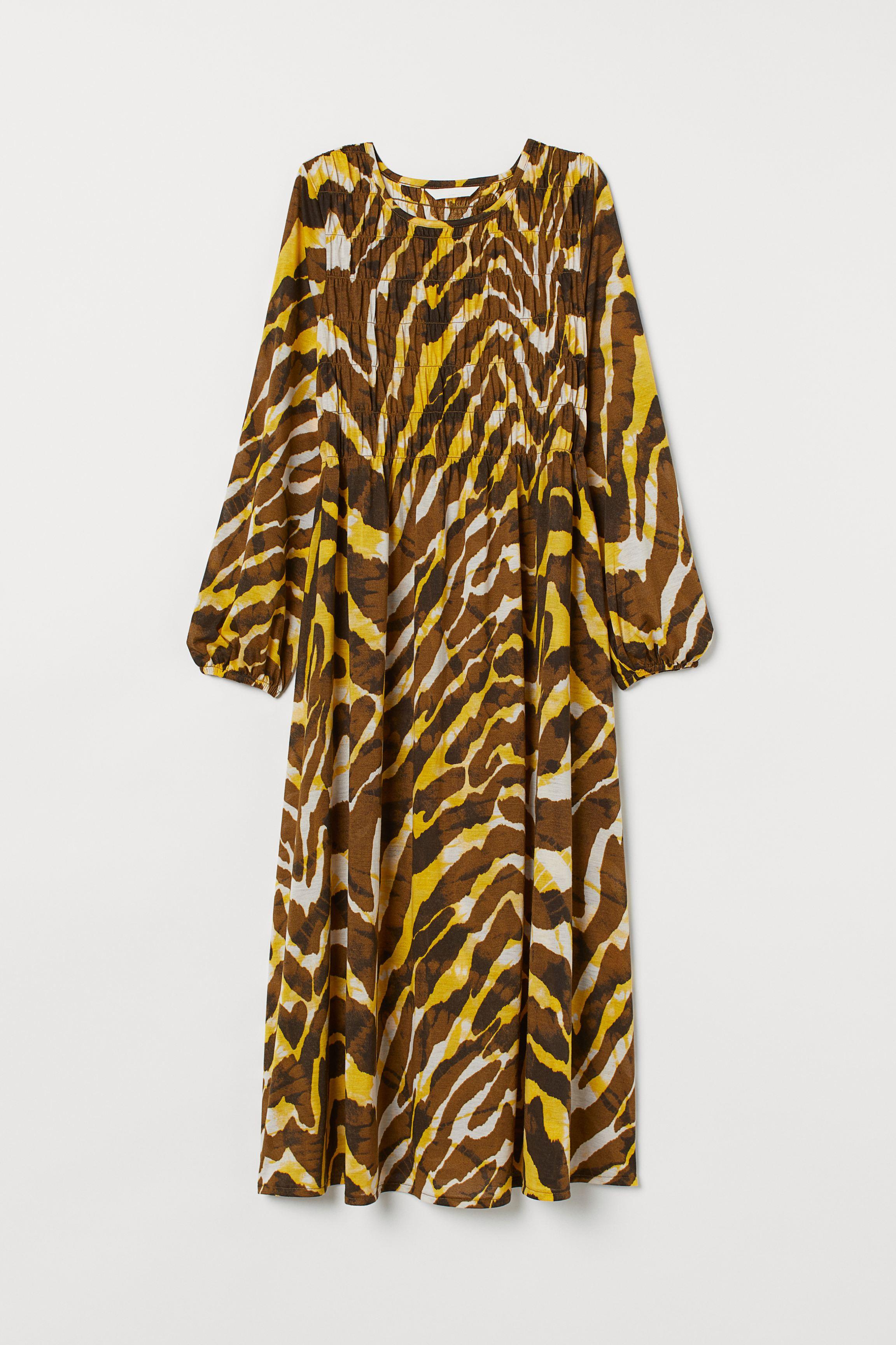 MAMA Dress with Smocking