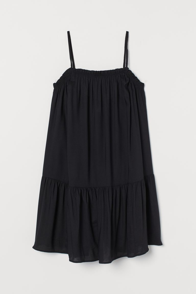 Vestido corto - Negro - Ladies | H&M MX