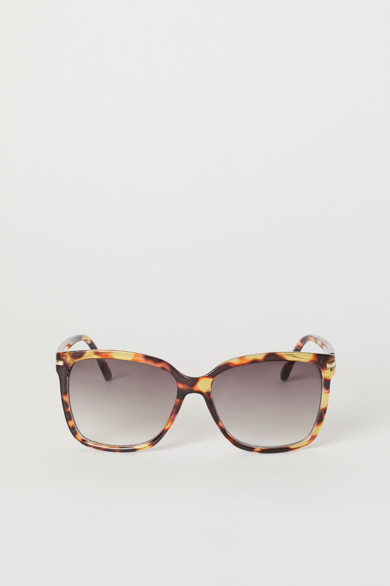 Sunglasses - Brown/tortoiseshell-patterned - Ladies | H&M CA