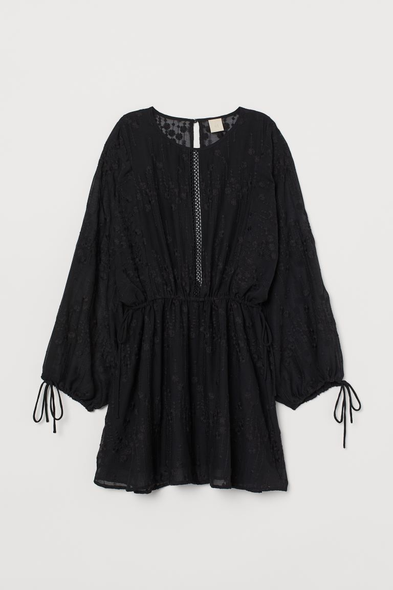 Airy tunic - Black - Ladies | H&M GB