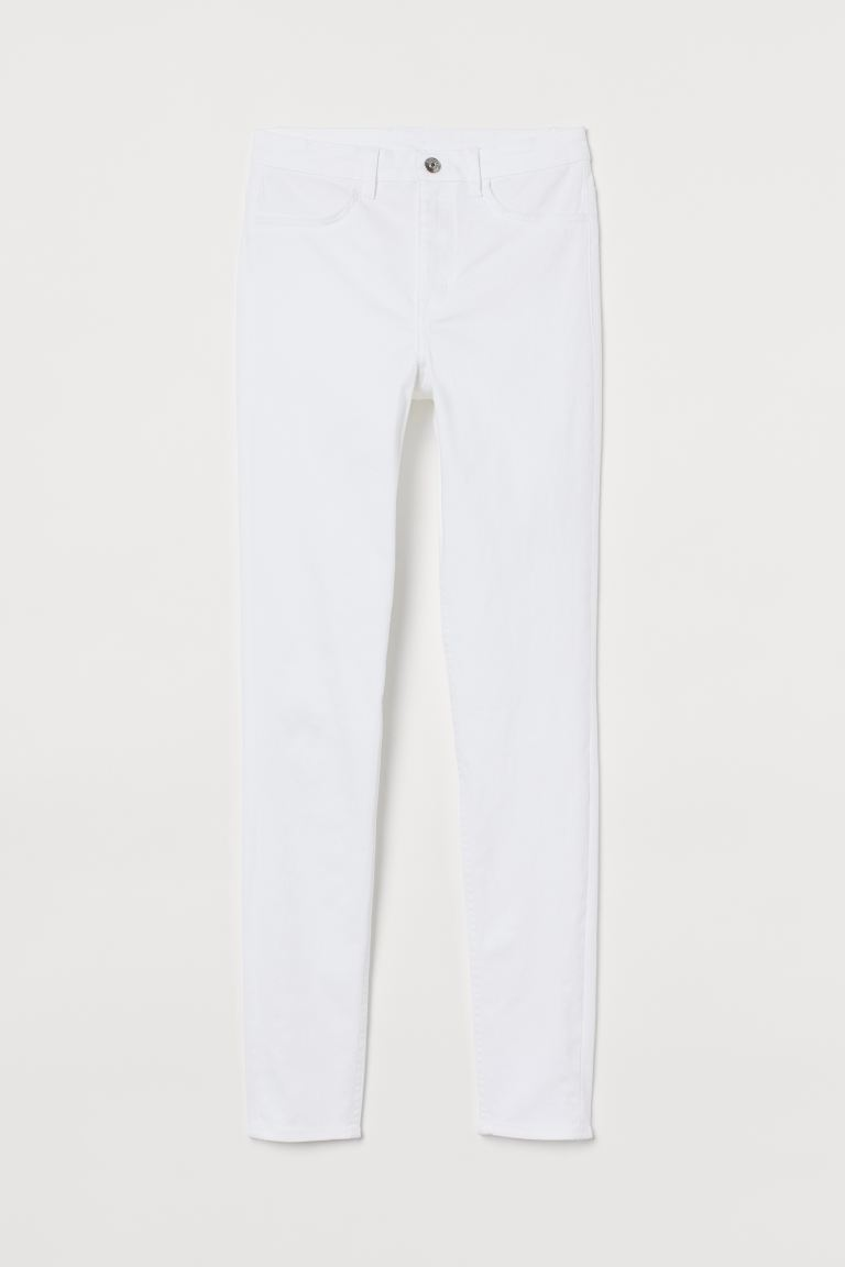 Super Skinny High Jeans - Weiß - Ladies | H&M AT