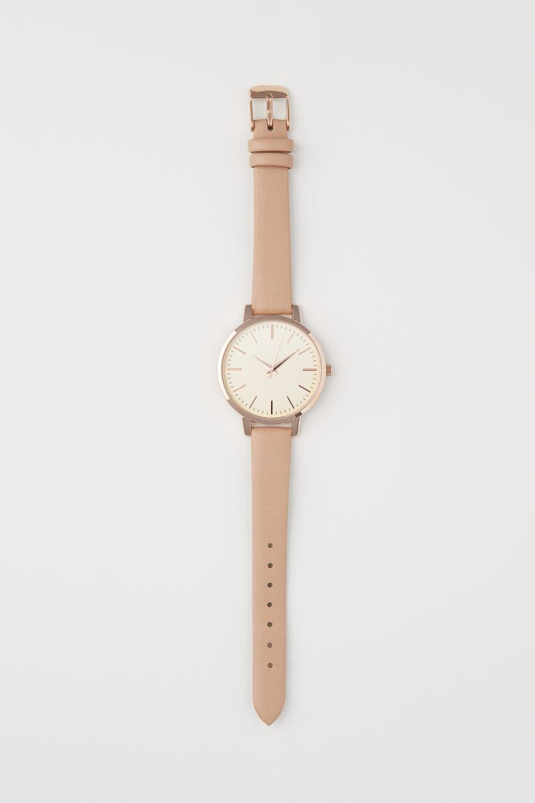 Watch - Light beige - Ladies | H&M GB