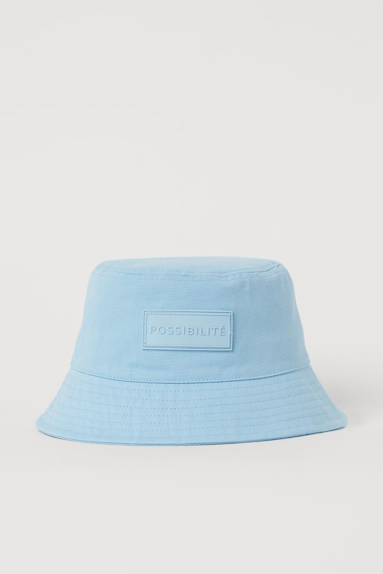 Bucket Hat - Light blue - Ladies | H&M US