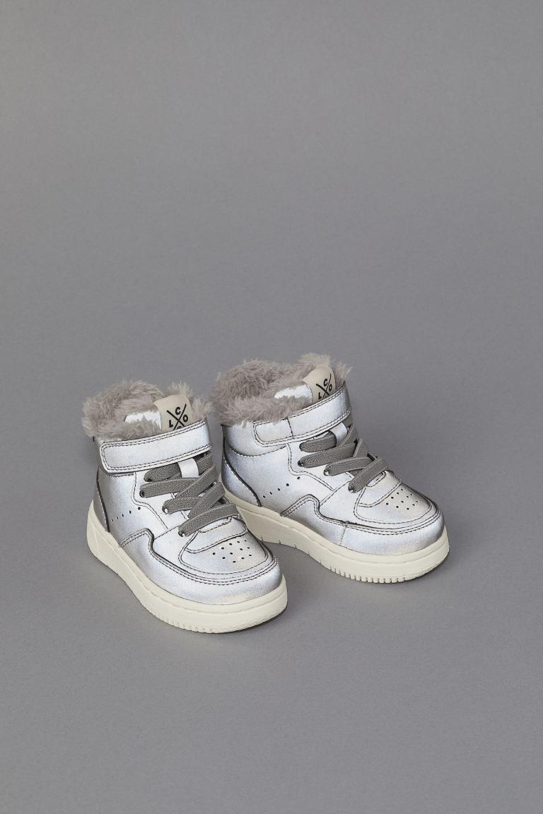 Ocieplane Buty Sportowe Srebrzysty Odblaskowy Dziecko H M Pl