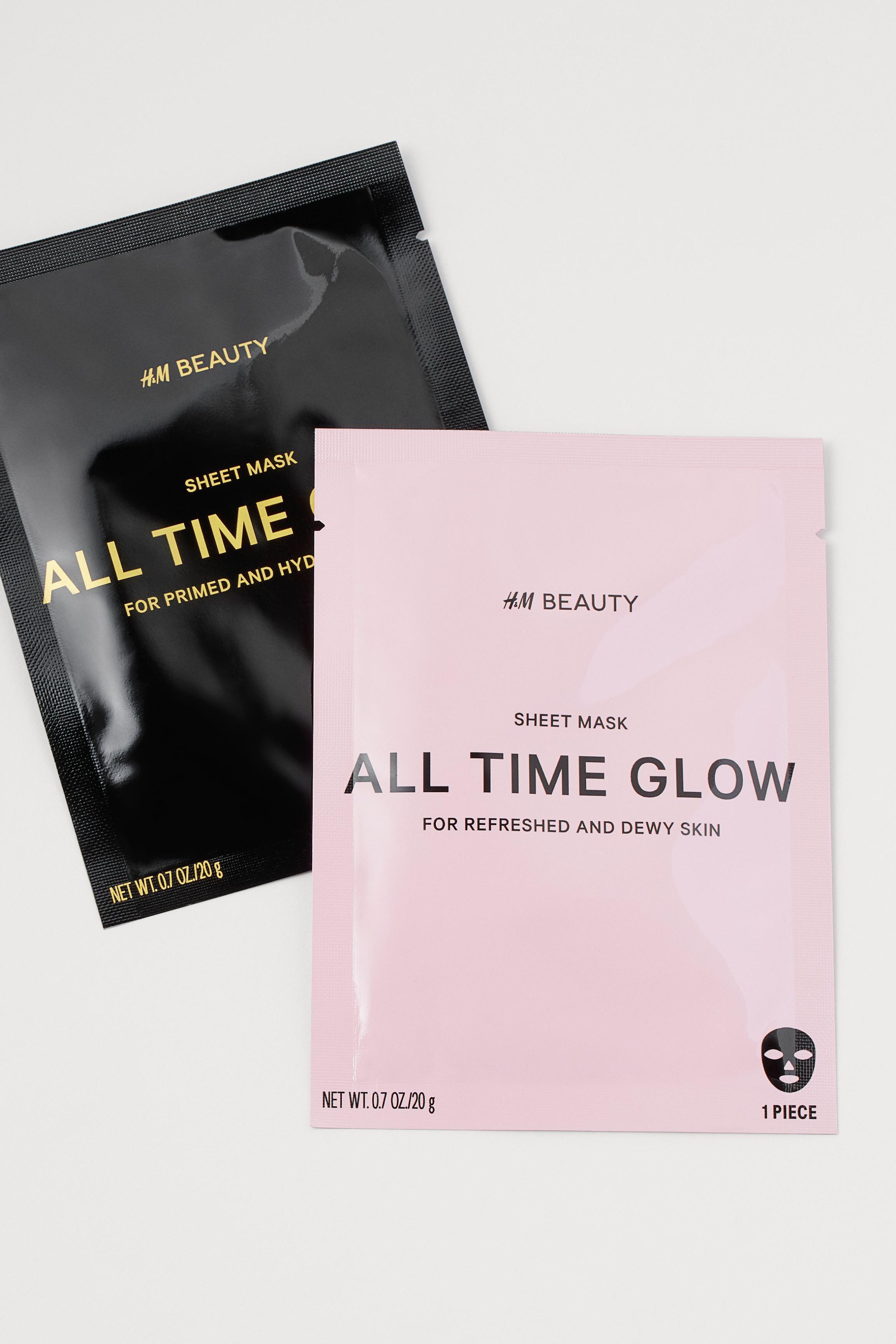 2-pack Sheet Masks