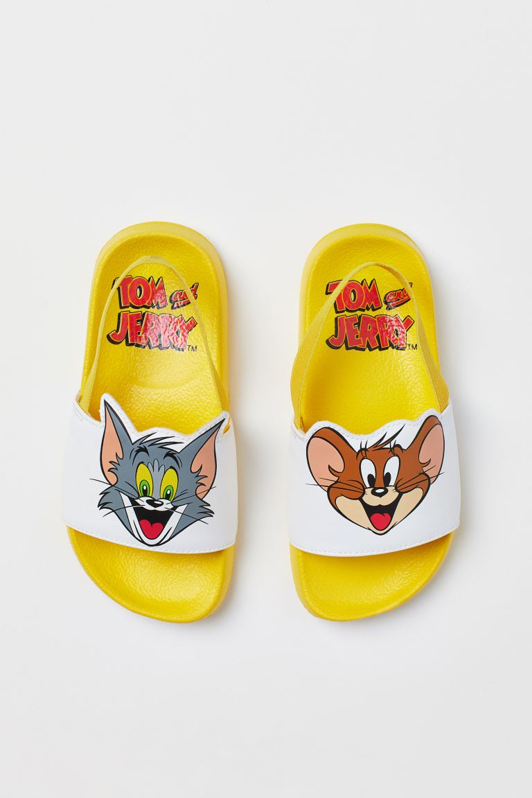 Ciabatte da mare stampate - Giallo/Tom & Jerry - BAMBINO | H&M IT