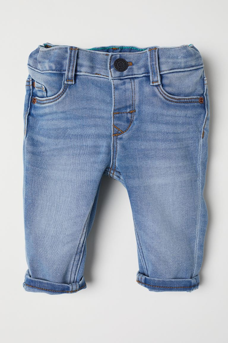 Slim Fit Jeans - Blu denim chiaro - BAMBINO | H&M IT