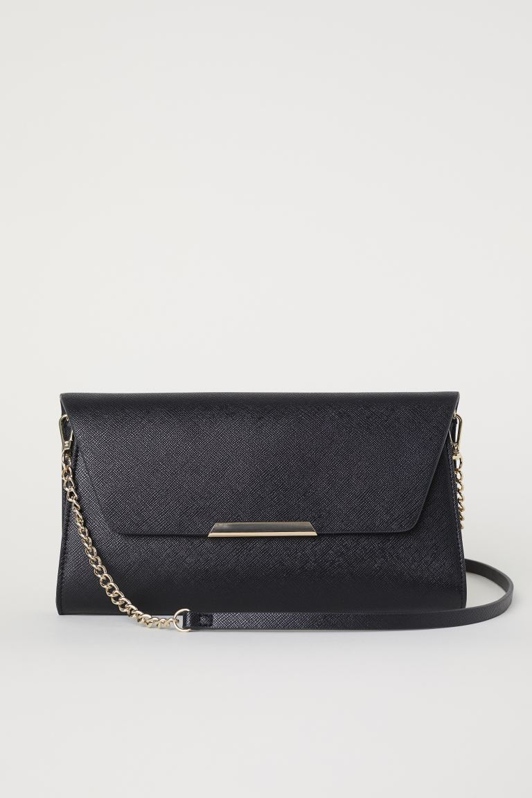 Clutch bag - Black - Ladies | H&M GB