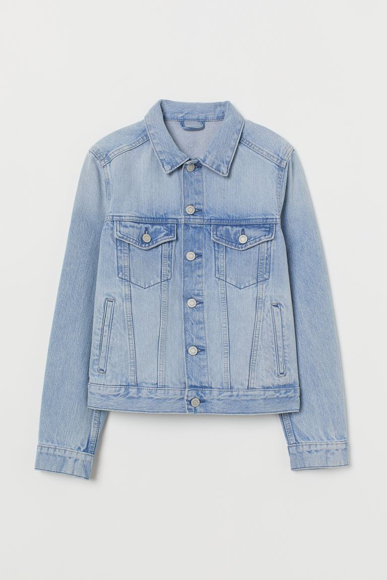 Jeansjacke - Hellblau - Ladies | H&M AT
