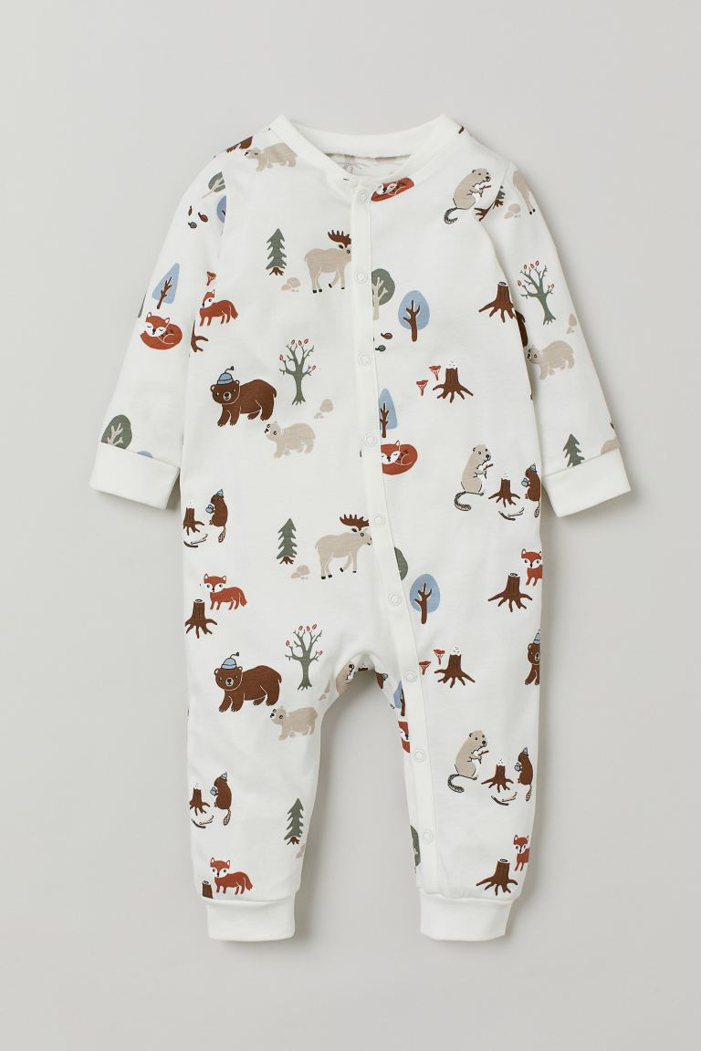 Pyjama aus Baumwolljersey