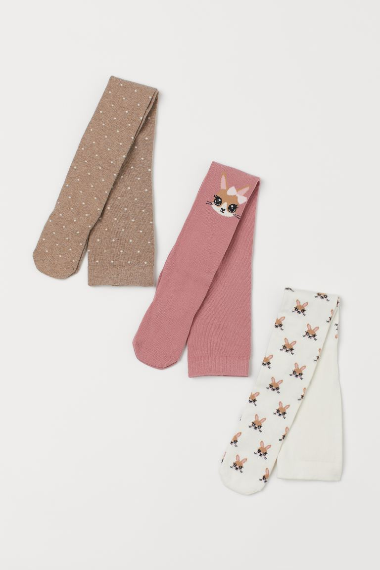 3-pack tights