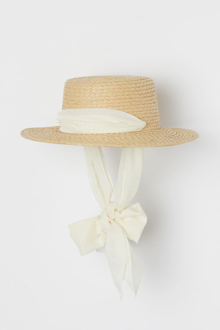 Шляпа с лентами завязками ткань шпатель купить