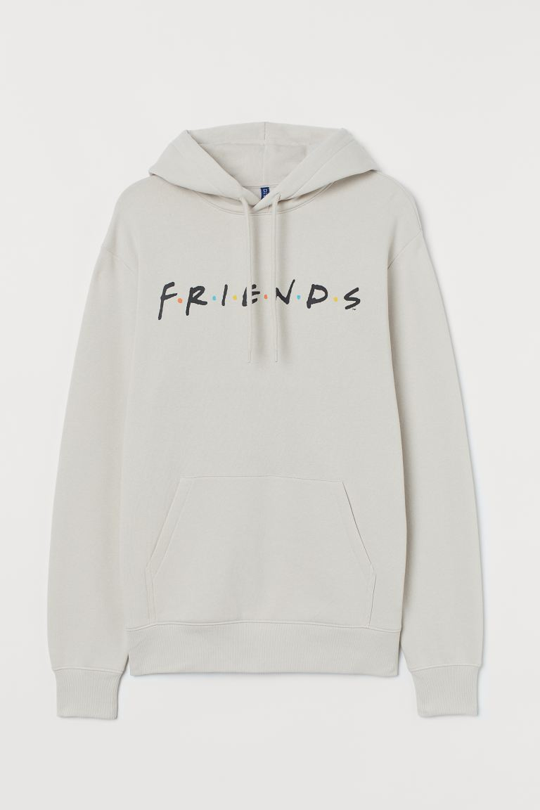 Sudadera Regular Fit - Greige claro/Friends - Men | H&M US