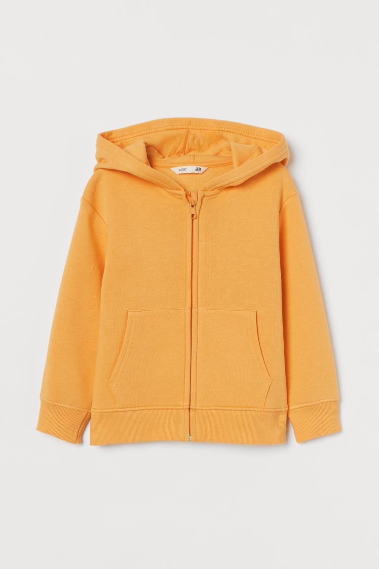 Hooded Jacket - Yellow - Kids | H&M US