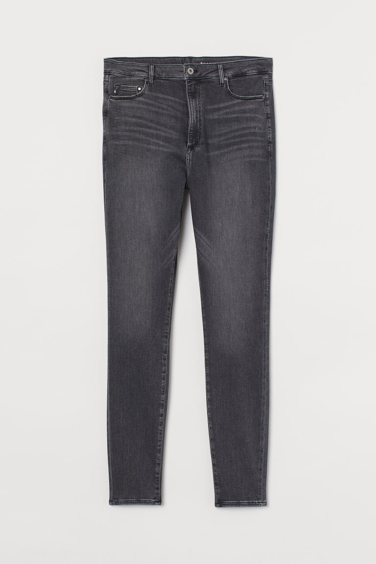H&M+ Shaping High Jeans - Mørk grå - DAME | H&M NO
