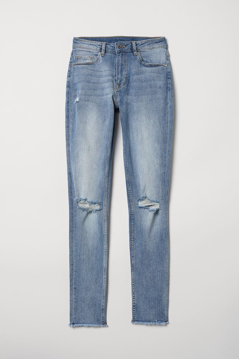 Skinny Regular Ankle Jeans - Blu denim - DONNA | H&M IT