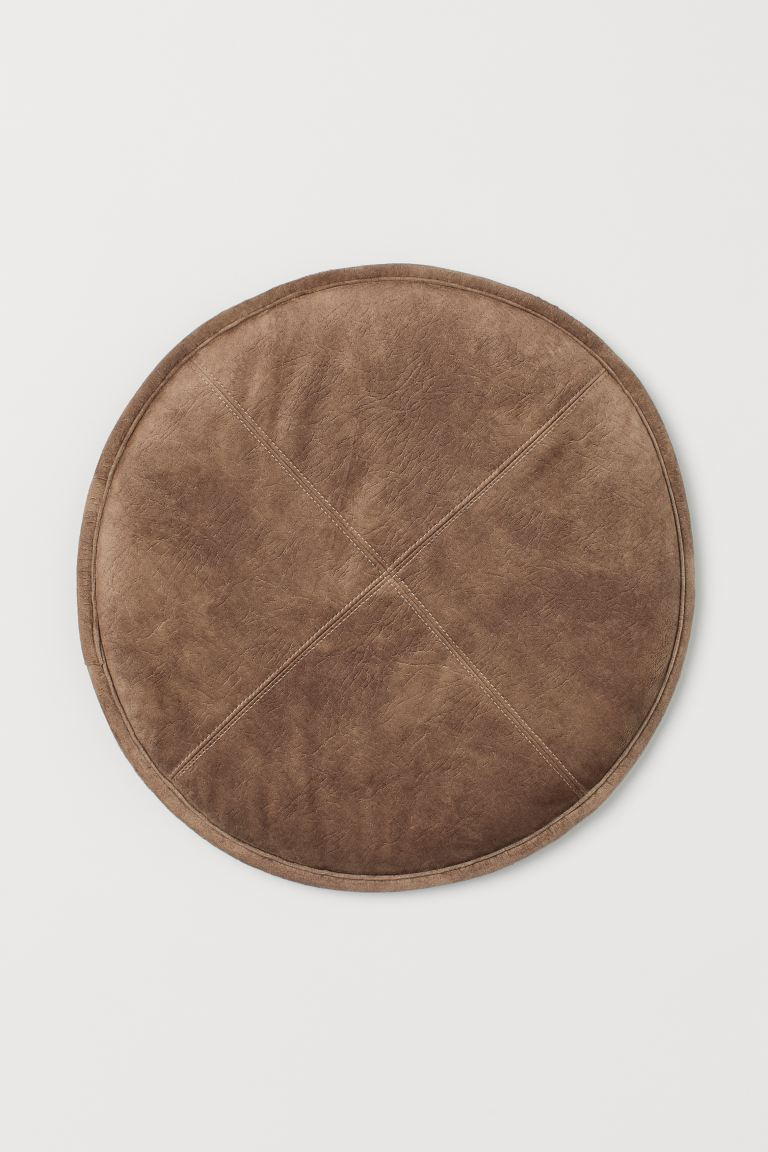 Round seat cushion - Brown - Home All | H&M IE