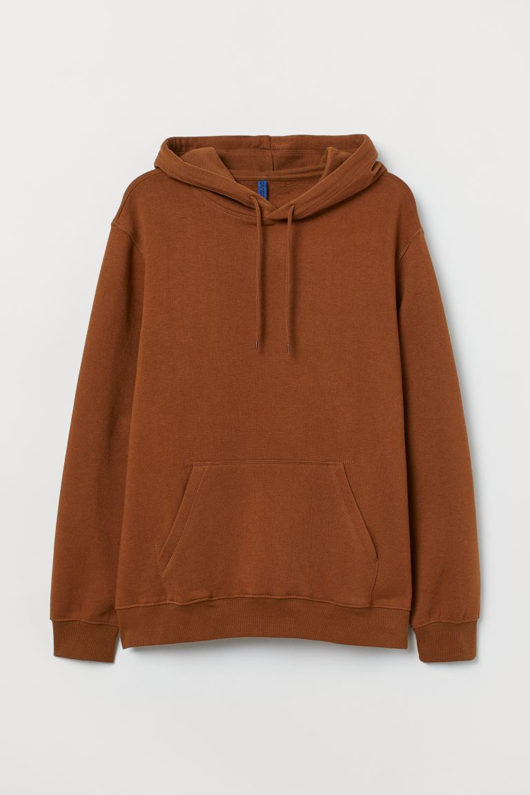 Relaxed-fit Hoodie - Brown - Men | H&M US