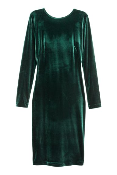 Dress - Green - Ladies | H&M GB