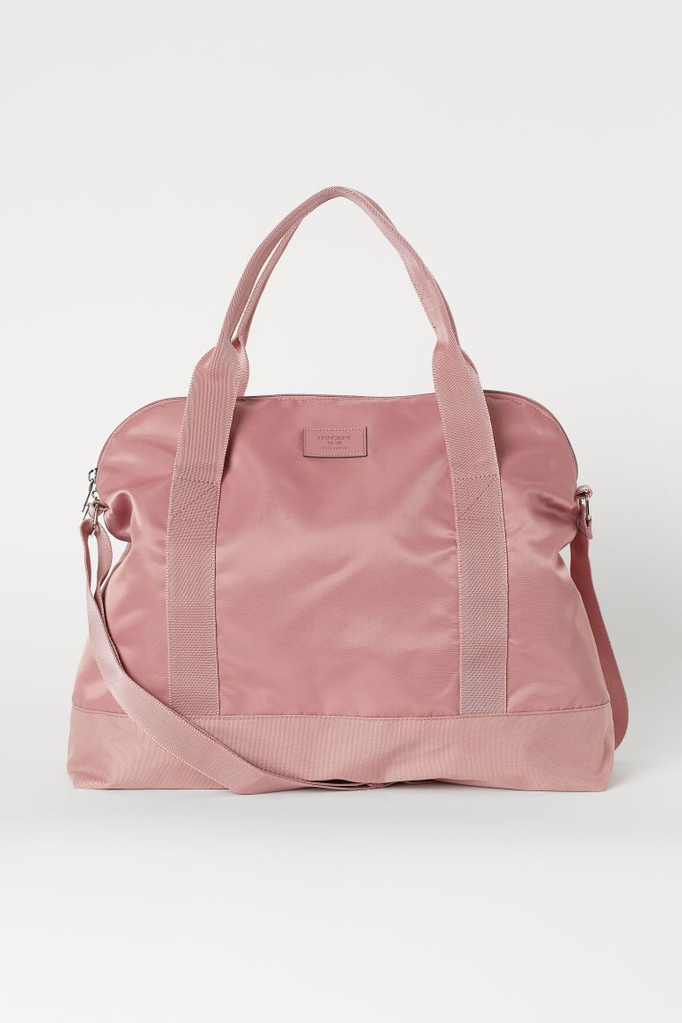 Small Weekend Bag - Pink - Ladies | H&M US