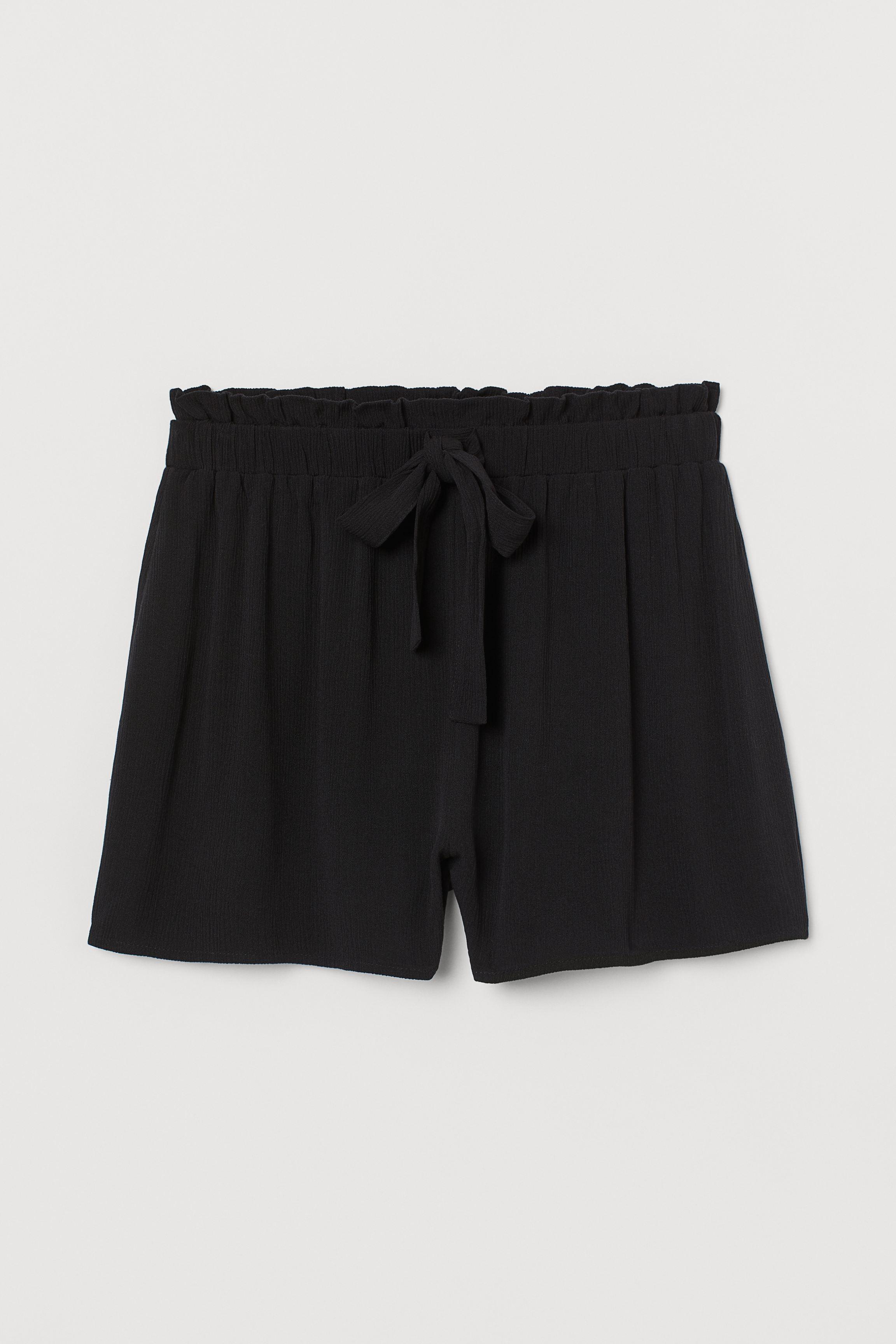 Crinkled Shorts