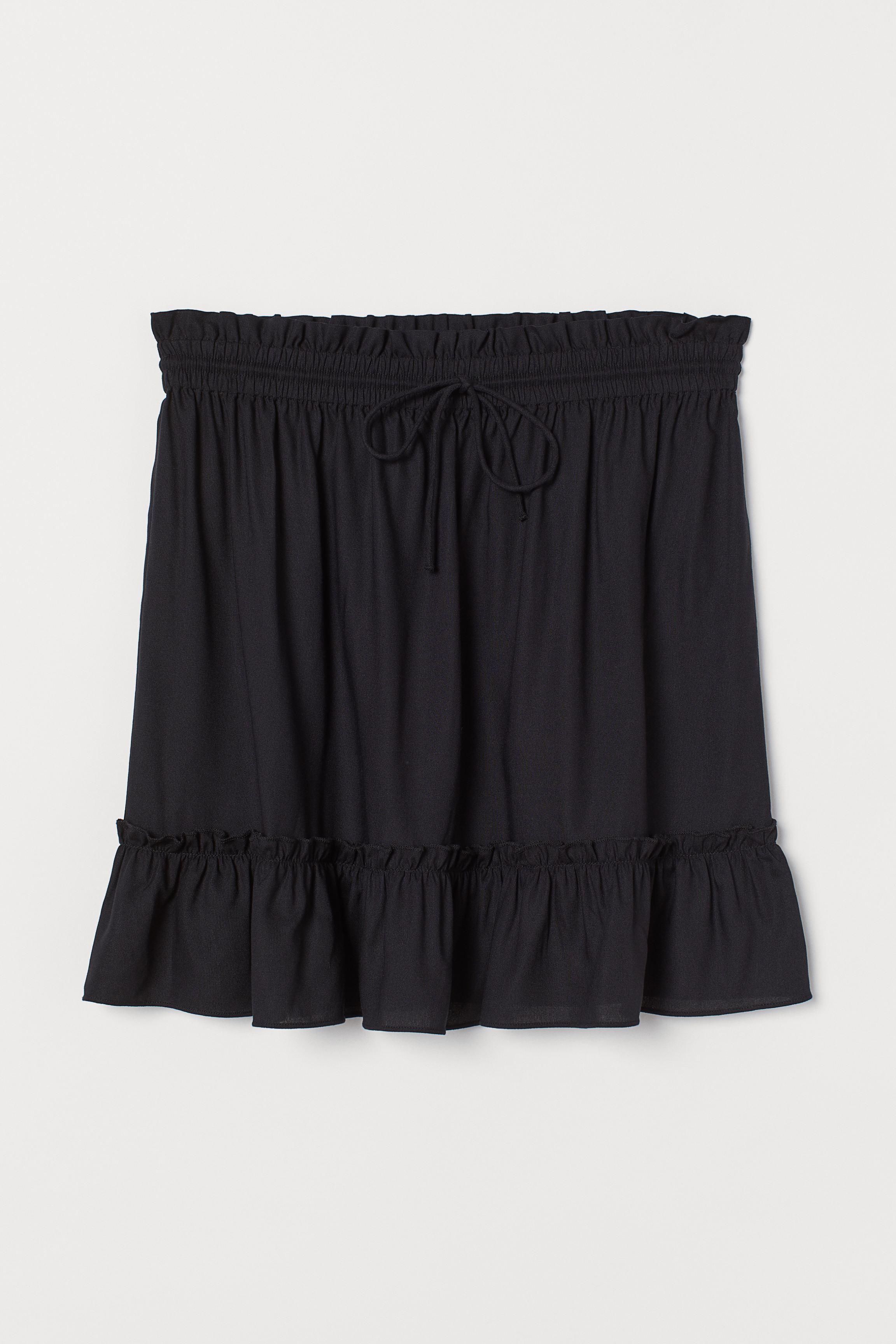 Short Ruffled Skirt