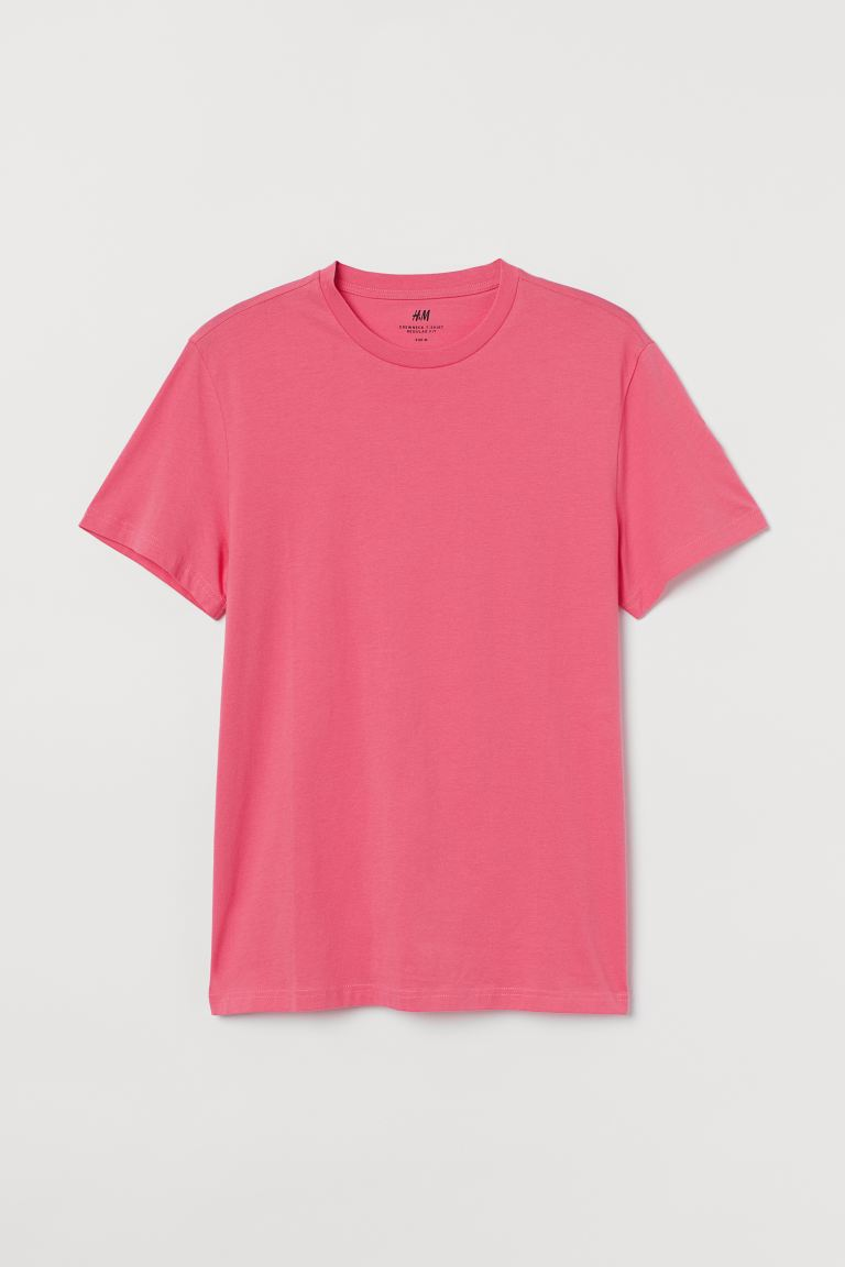 T-shirt Regular fit - Rose - HOMME | H&M CH