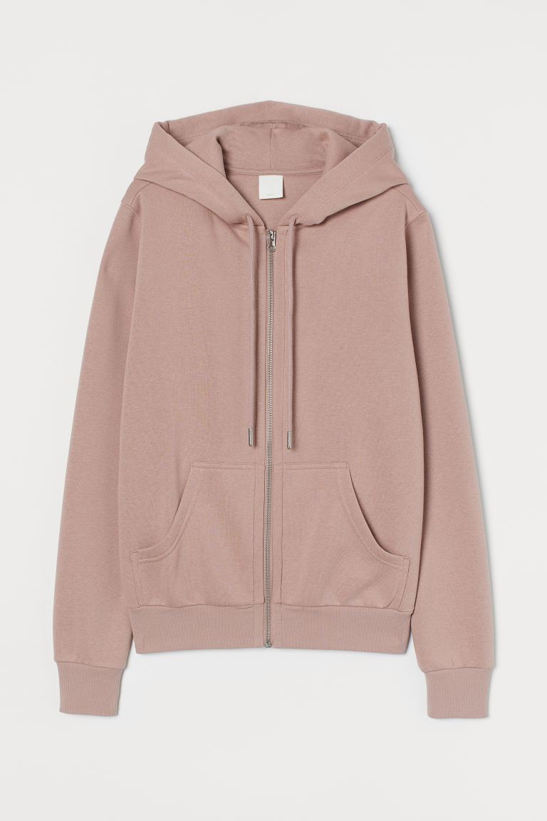 Hooded Jacket - Pale pink - Ladies | H&M US