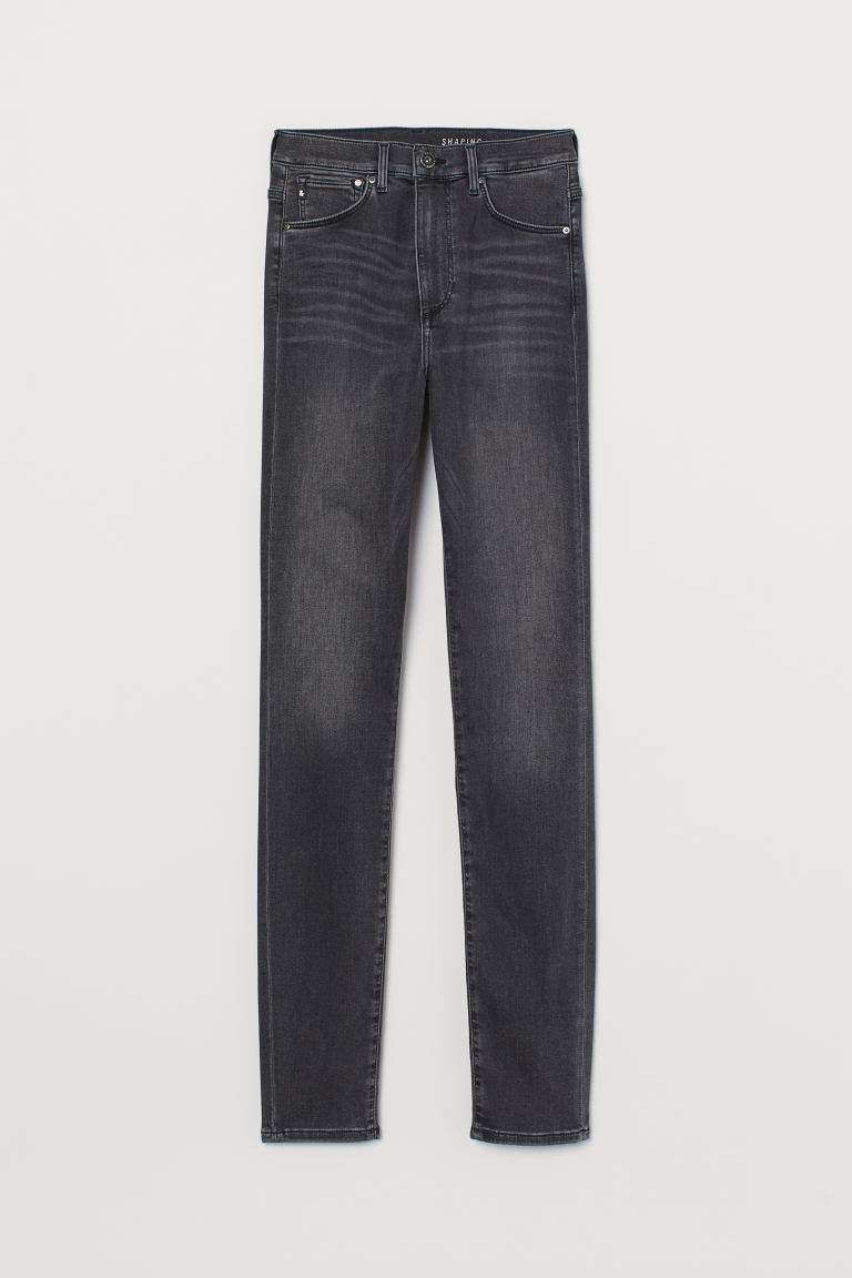 Shaping Skinny High Jeans - Dunkelgrau - Ladies | H&M AT