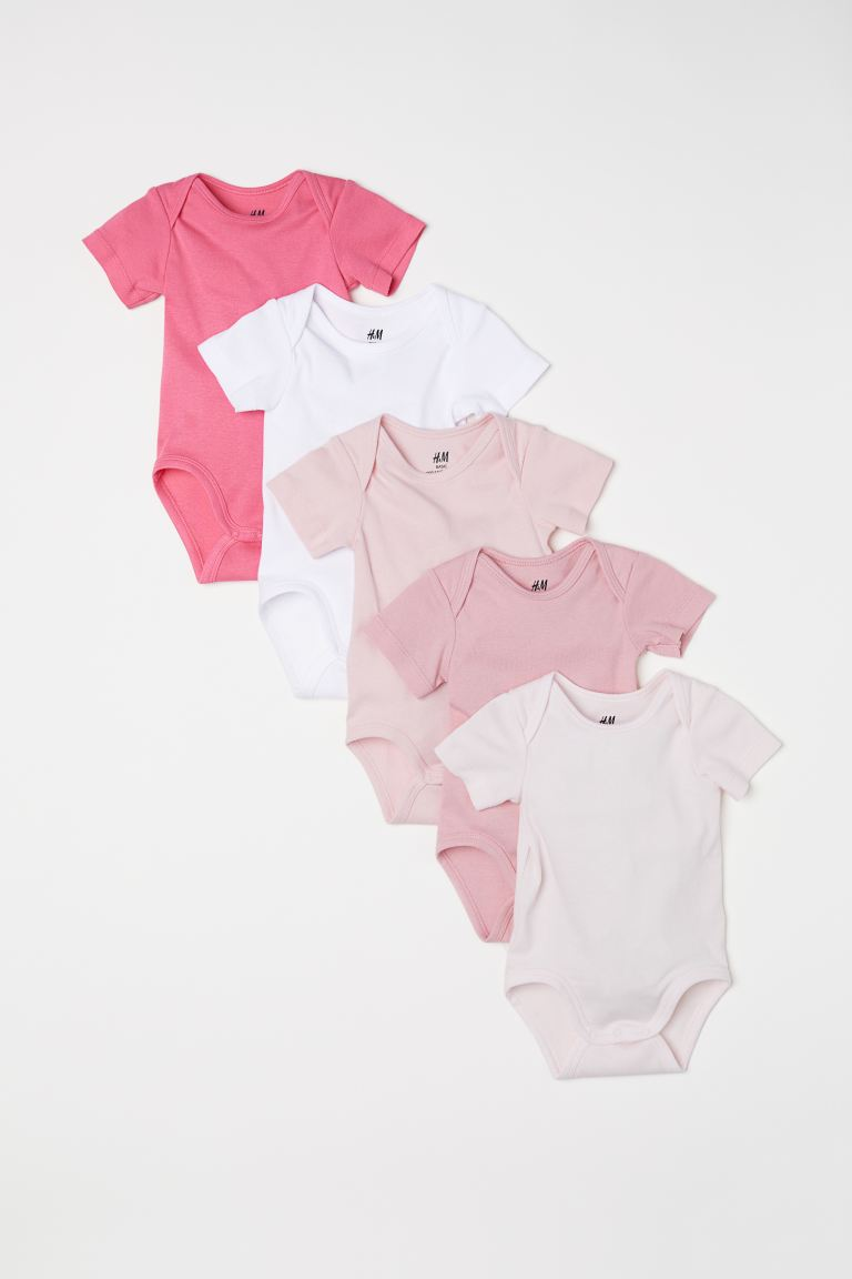 5-pack body - Ljusrosa - BARN | H&M SE