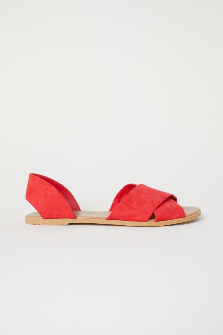 Sandals - Red - Ladies | H&M IN