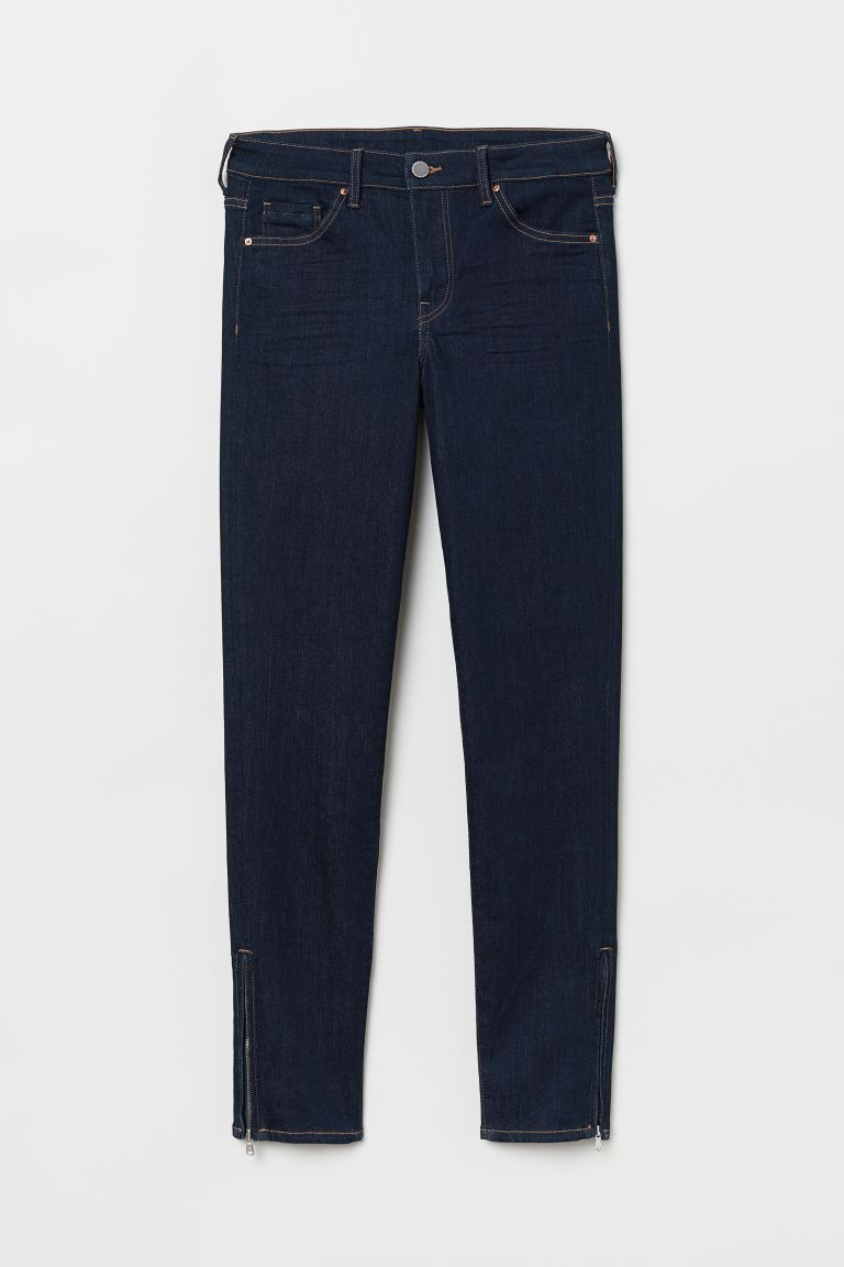 Skinny Regular Ankle Jeans - Azul oscuro - MUJER | H&M ES