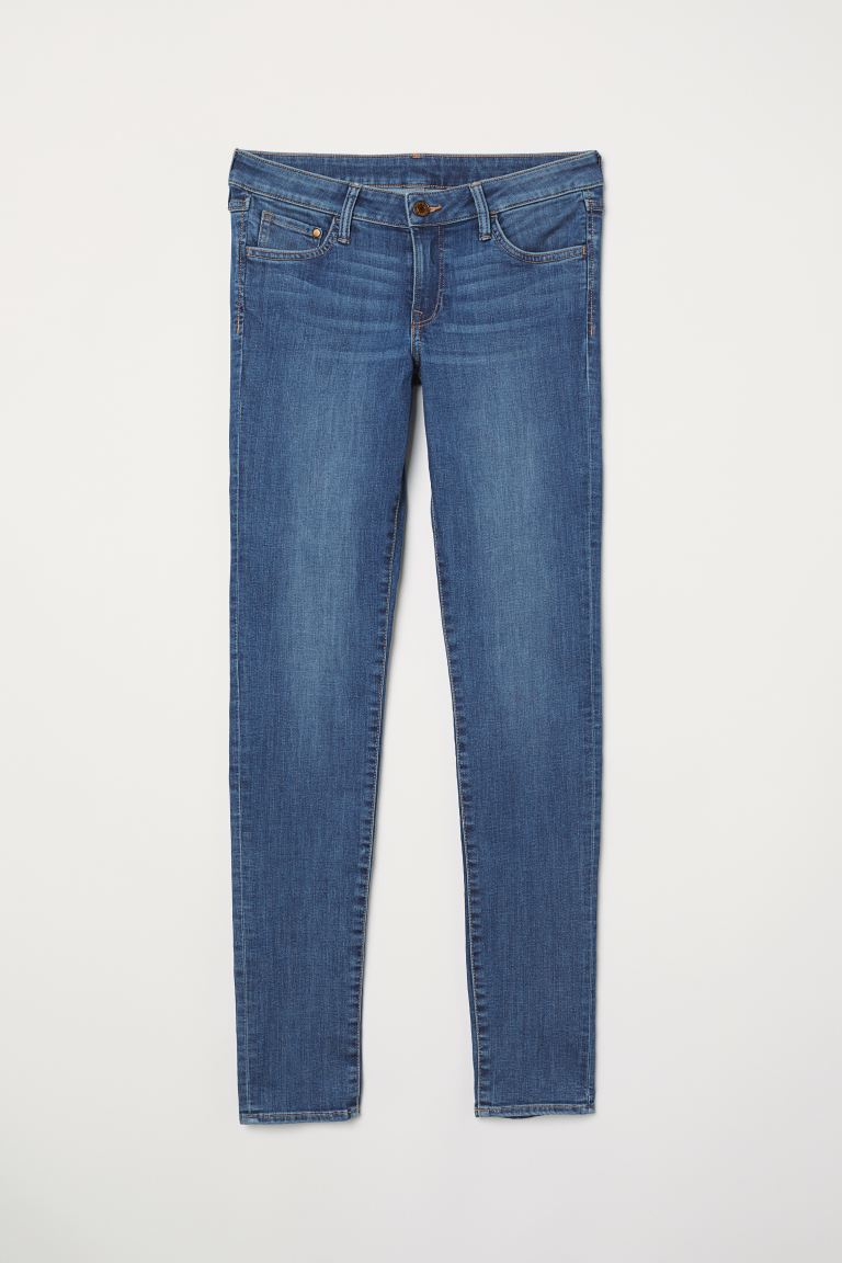 Super Skinny Low Jeans - Blau - Ladies | H&M DE