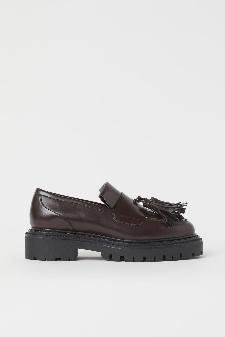 Loafers - Burgundy - Ladies | H&M IN