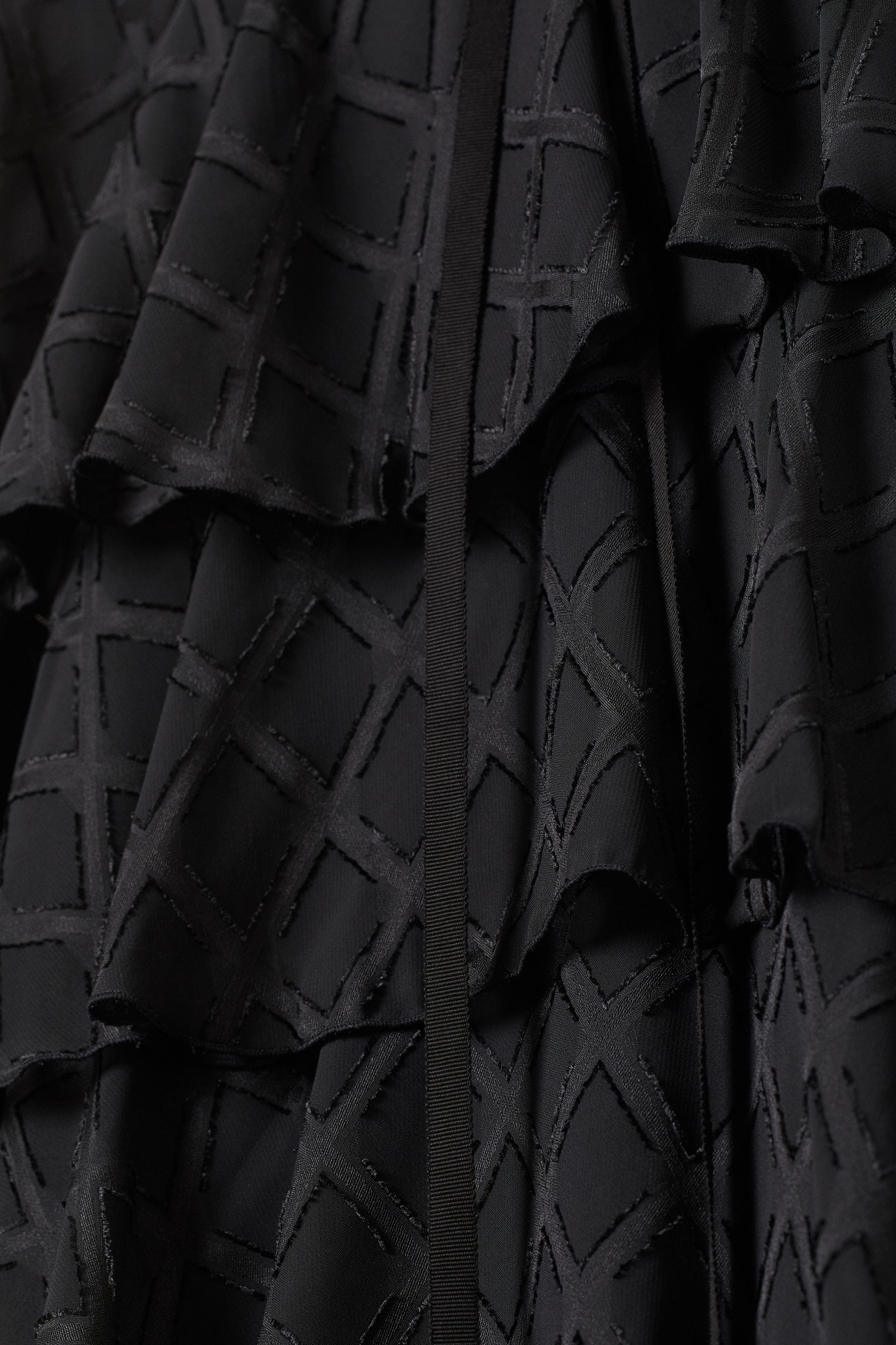 Jacquard-patterned Dress