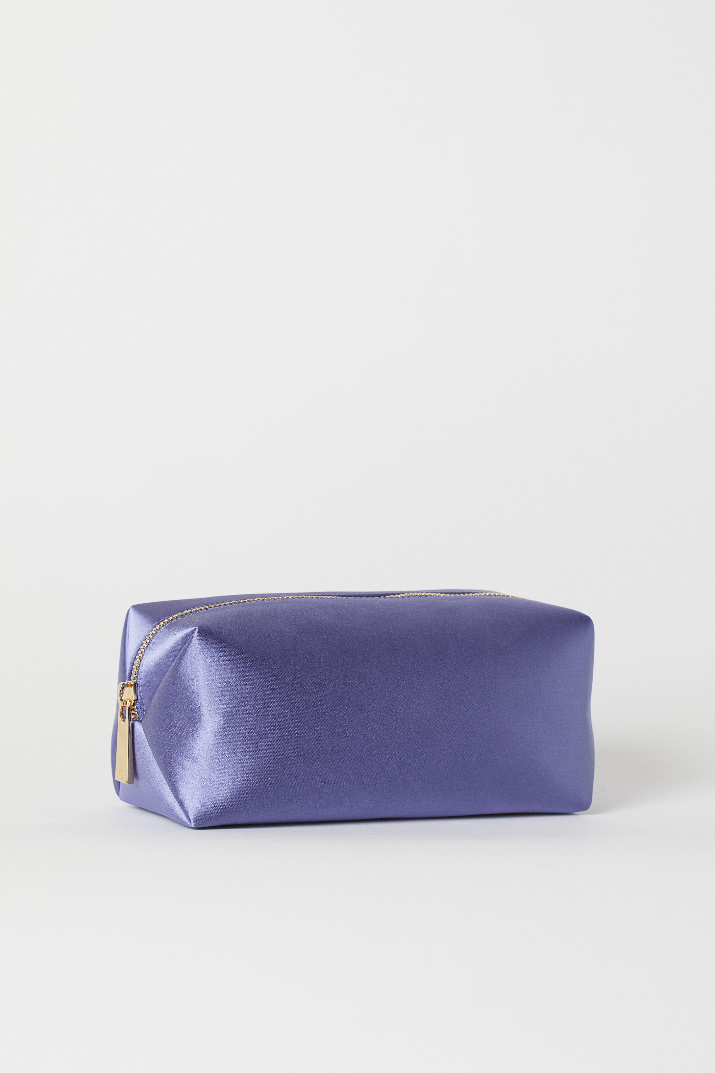 Satin Makeup Bag