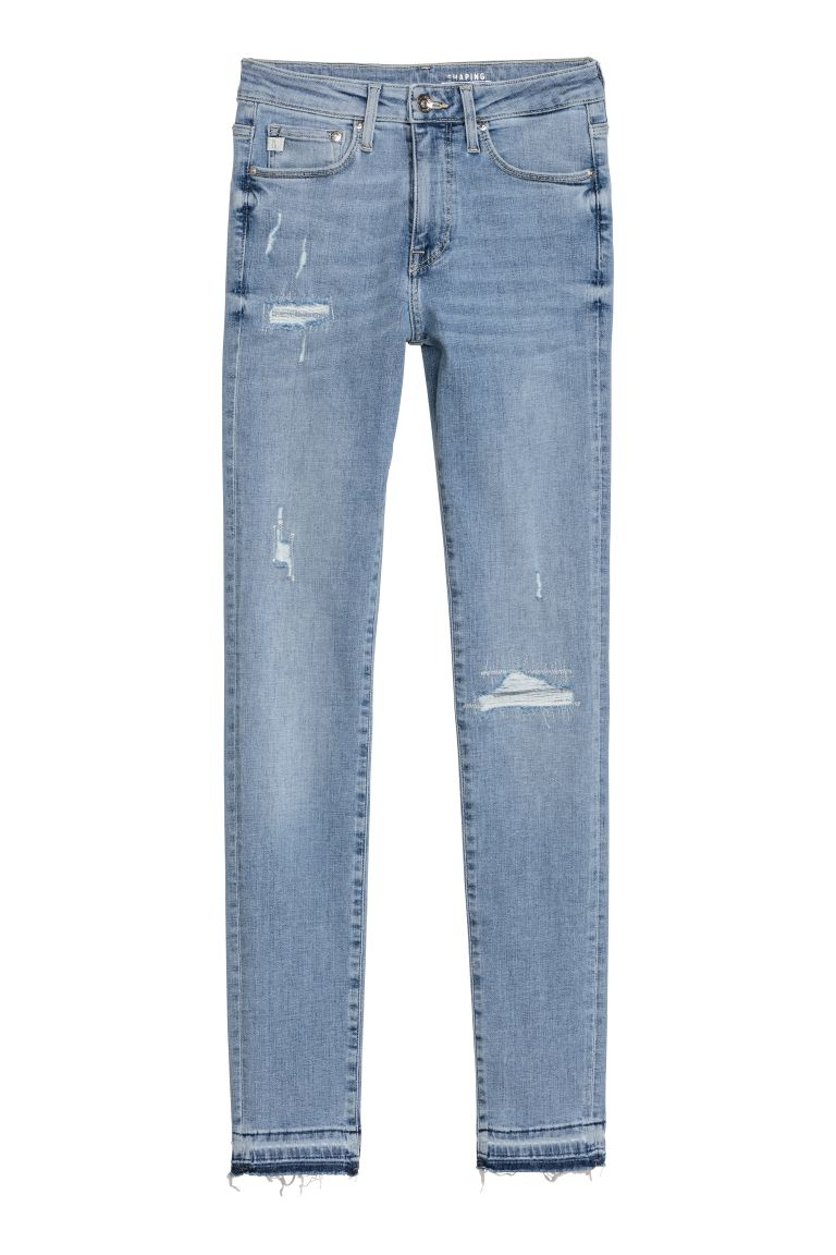 Shaping Skinny Regular Jeans - Ljus denimblå - DAM | H&M SE