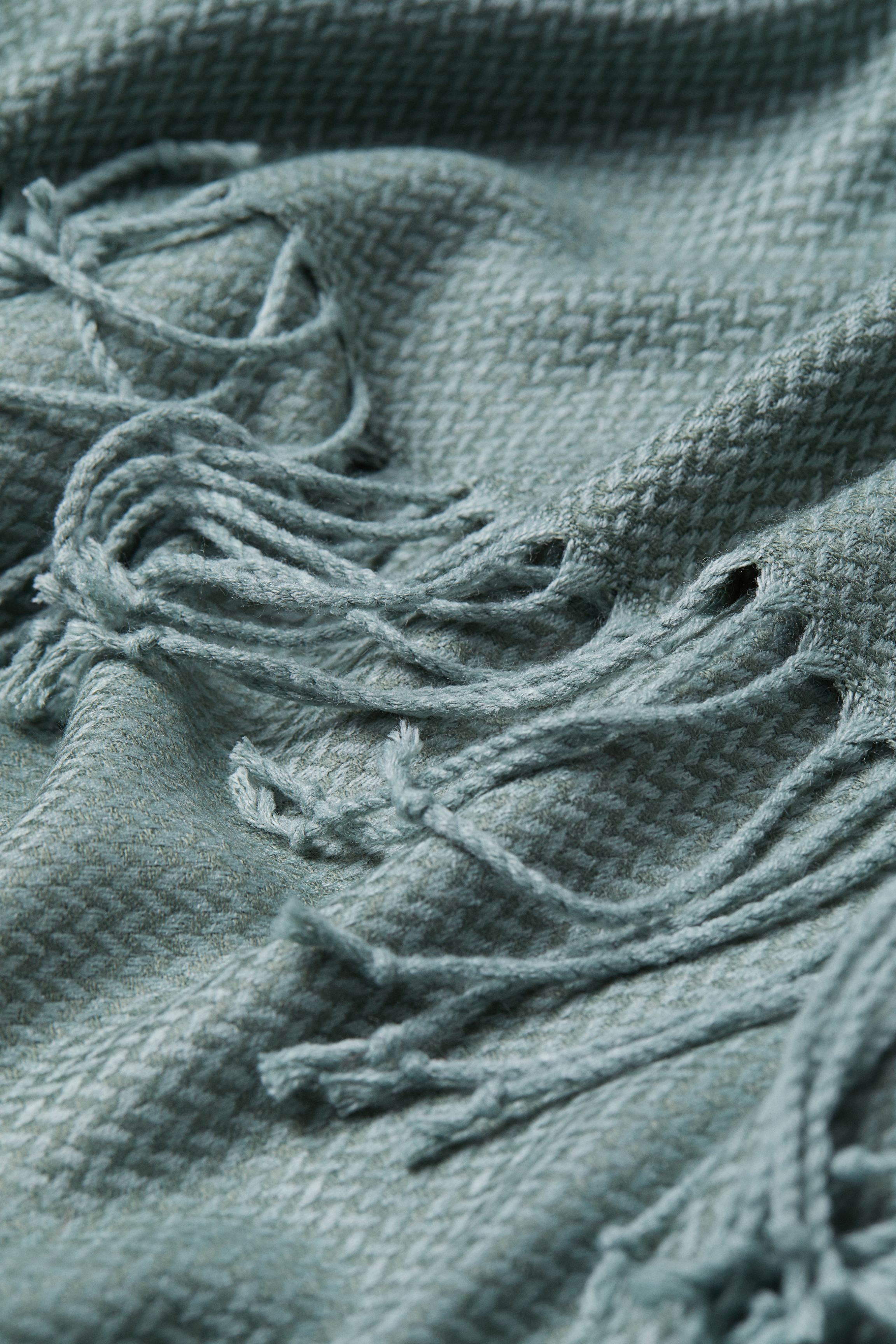 Jacquard-weave Throw