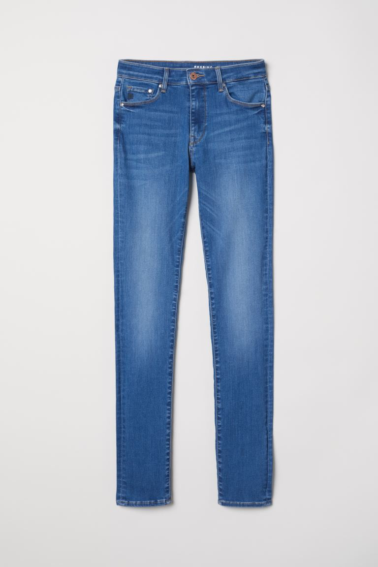 Shaping Skinny Regular Jeans - Denim blue - Ladies | H&M GB