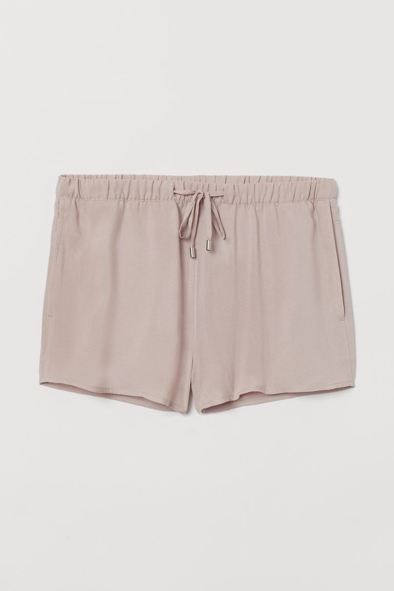 Pull-on Shorts - Powder pink - Ladies | H&M US